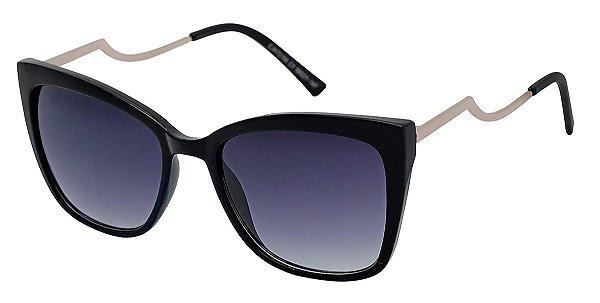Óculos de Sol Feminino AT 72158 Preto Gatinho