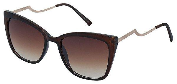 Óculos de Sol Feminino AT 72158 Marrom Gatinho