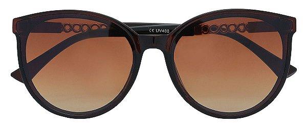 Óculos de Sol Feminino AT 2050 Marrom