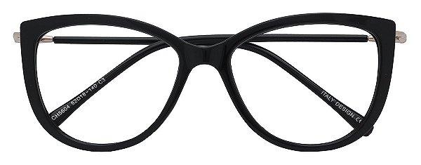 Armação Óculos Receituário AT 5604 Preto