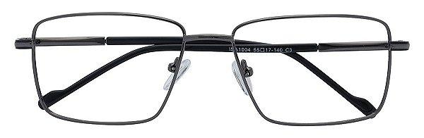 Armação Óculos Receituário AT 1004 Chumbo