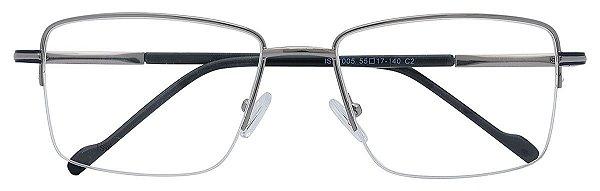 Armação Óculos Receituário AT 1005 Prata/Azul