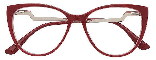 Armação Óculos Receituário AT 2202 Vermelho