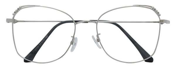 Armação Óculos Receituário AT 8008 Prata