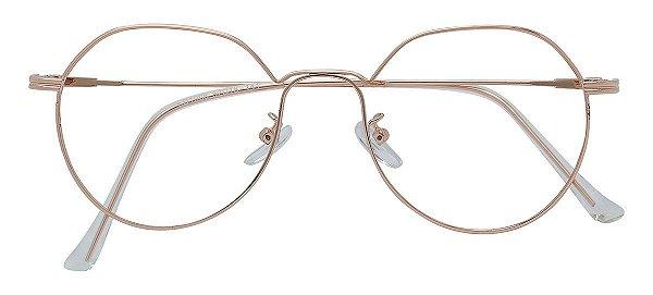 Armação Óculos Receituário AT 1906 Cobre