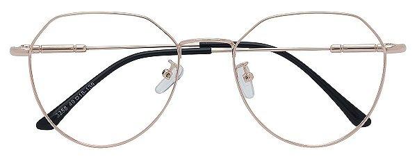 Armação Óculos Receituário AT 3258 Cobre