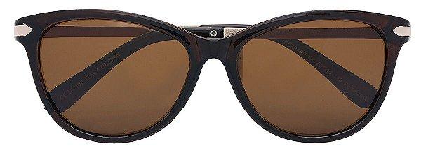 Óculos de Sol Feminino AT 2045 Marrom