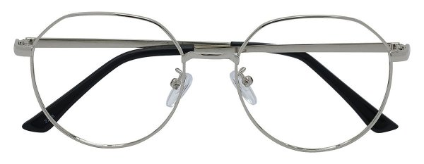 Armação Óculos Receituário AT 3206 Prata