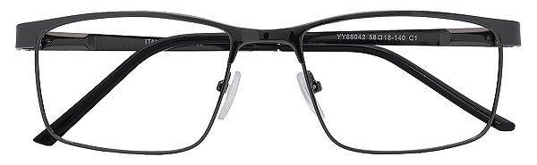Armação Óculos Receituário AT 88042 Chumbo