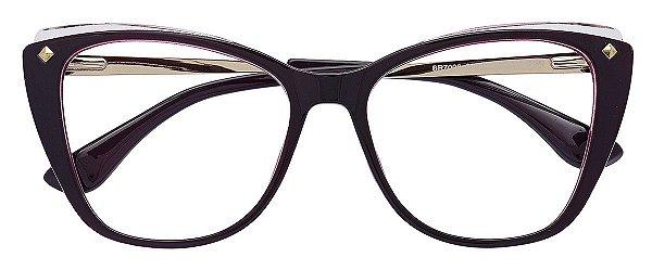 Armação Óculos Receituário AT 7006 Vinho