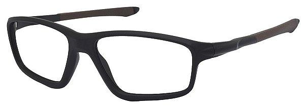 Armação Óculos Receituário AT 8376 Marrom