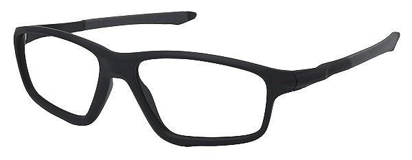 Armação Óculos Receituário AT 8376 Cinza