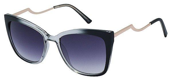 Óculos de Sol Feminino AT 72158 Preto Degradê