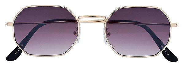 Óculos de Sol Unissex AT 71129 Dourado