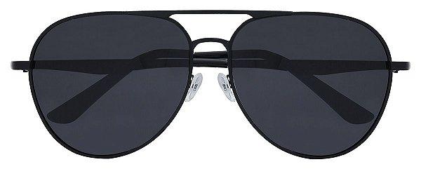Óculos de Sol Unissex AT 3058 Preto Aviador