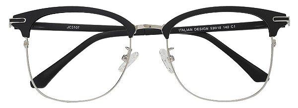 Armação Óculos Receituário AT 3107 Preto