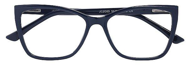 Armação Óculos Receituário AT 2089 Azul