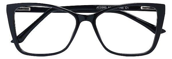 Armação Óculos Receituário AT 2085 Preto