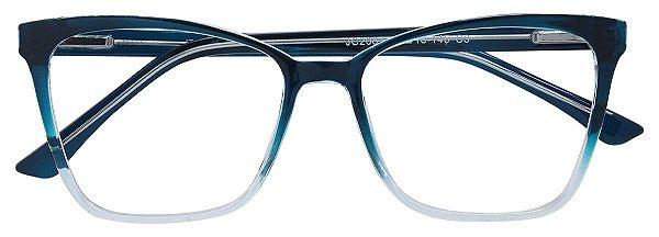 Armação Óculos Receituário AT 2087 Azul Degradê