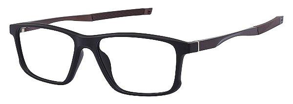 Armação Óculos Receituário AT 5827 Marrom