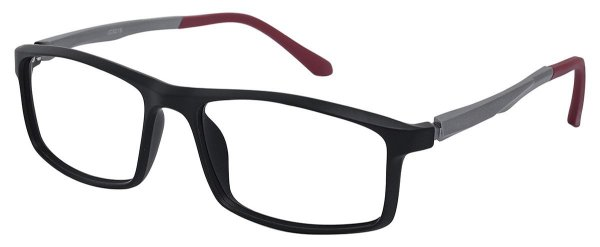 Armação Óculos Receituário AT 9218 Preto/Vermelho