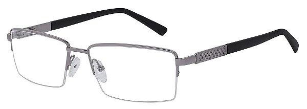Armação Óculos Receituário AT 6015 Prata