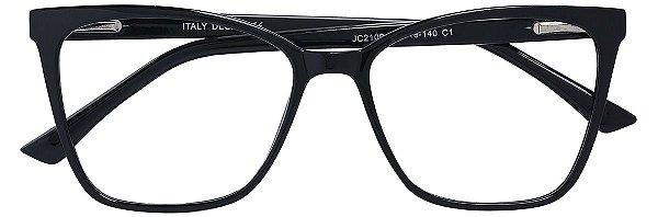 Armação Óculos Receituário AT 2109 Preto