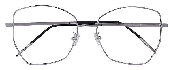 Armação Óculos Receituário AT 934 Prata