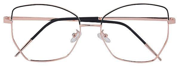 Armação Óculos Receituário AT 934 Dourado