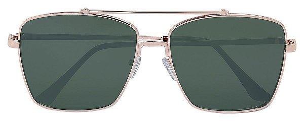 Óculos de Sol Feminino AT 91004 Dourado