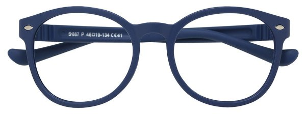 Armação Óculos Receituário AT 887 Azul (08 A 17 Anos)