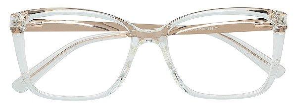 Armação Óculos Receituário AT 98001 Transparente