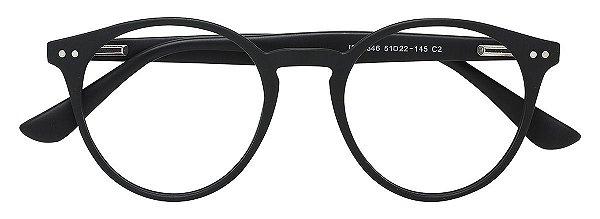 Armação Óculos Receituário AT 3346 Preto