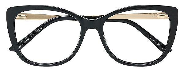 Armação Óculos Receituário AT 98148 Preto