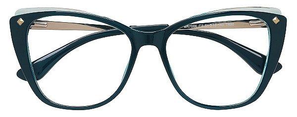 Armação Óculos Receituário AT 7006 Azul
