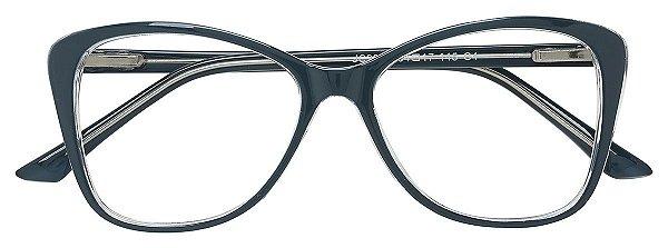 Armação Óculos Receituário AT 2090 Azul Acinzentado