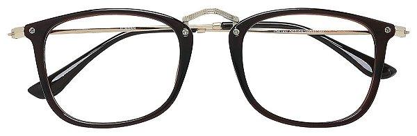 Armação Óculos Receituário AT 9089 Marrom