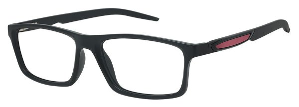 Armação Óculos Receituário AT 1059 Preto/Vermelho