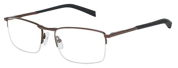 Armação Óculos Receituário AT 1007 Cobre/Preto