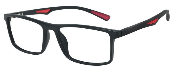 Armação Óculos Receituário AT 1067 Preto/Vermelho