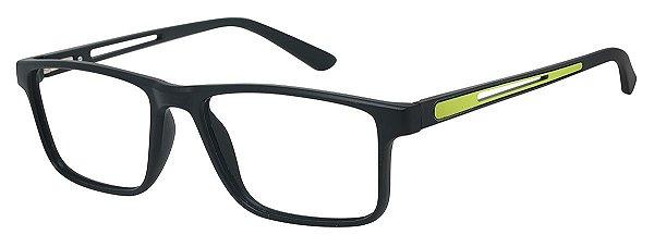 Armação Óculos Receituário AT 1042 Preto/Verde