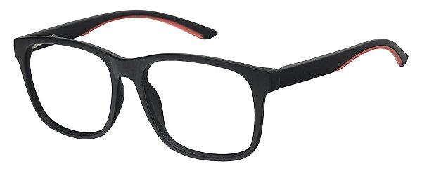 Armação Óculos Receituário AT 1045 Preto/Laranja
