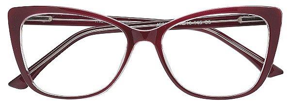 Armação Óculos Receituário AT 2086 Vinho