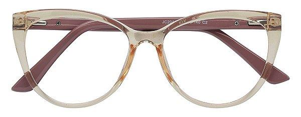 Armação Óculos Receituário AT 2044 Champagne/Nude