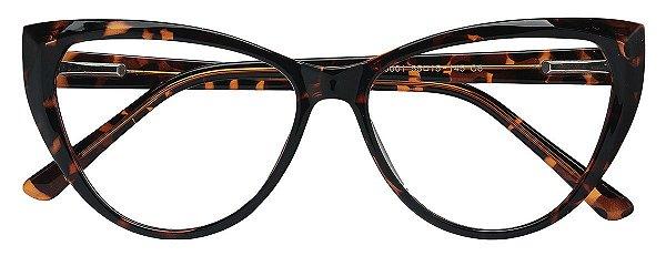Armação Óculos Receituário AT 66001 Tartaruga
