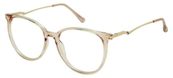 Armação Óculos Receituário AT 5004 Rosé Transparente