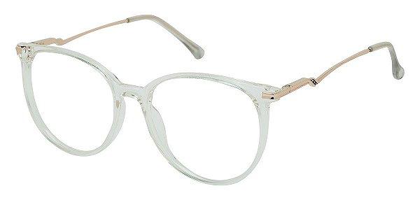Armação Óculos Receituário AT 5004 Transparente