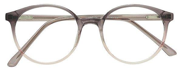 Armação Óculos Receituário AT 1041 Lilás Degradê Transparente