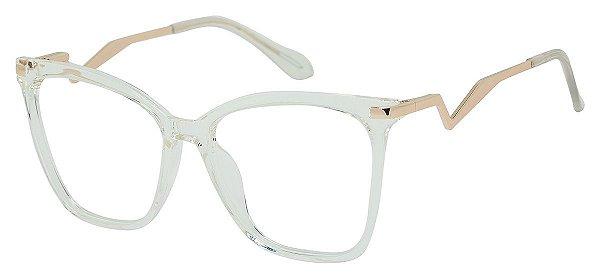 Armação Óculos Receituário AT 98006 Transparente