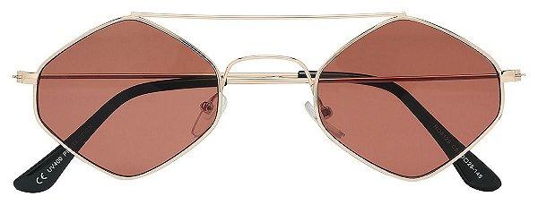 Óculos de Sol Masculino E Feminino AT 4125 Cobre/Vinho